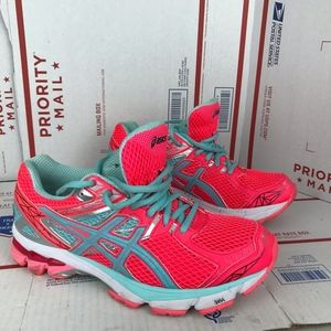Asics Womens GT 1000 Shoes T4K8N Size 8